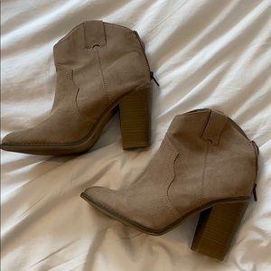 Merona western booties